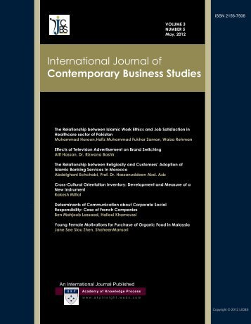 journal of business case studies issn The journal of business ethics publishes only original articles from a wide issn: 0167-4544 no material published in this journal may be reproduced.