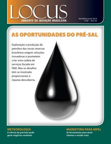 AS OPORTUNIDADES DO PRÉ-SAL - Anprotec