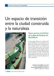 Un espacio de transición entre la ciudad construida y la naturaleza