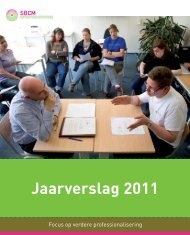 Download het SBCM jaarverslag 2011