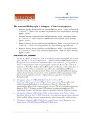 Annotated bibliography [PDF] - Environmental Defense Fund