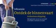 Ontdek de binnenvaart - Promotie Binnenvaart Vlaanderen