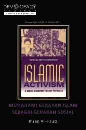 Islamic Activism - Democracy Project