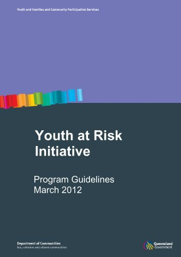 YARI program guidelines - Department of Communities, Child Safety ...