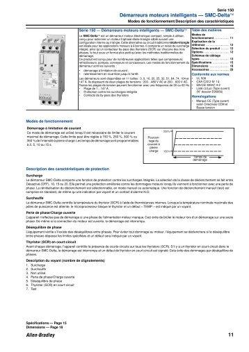 données techniques SMC3/Delta - Electropoint Distribution SA