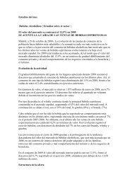 Estudios del mes Bebidas Alcohólicas | Estudios sobre el sector | El ...