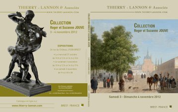Collection ROGER ET SUZANNE JOUVE - Thierry, Lannon et ...