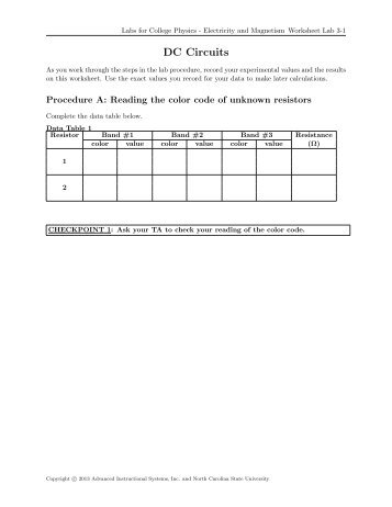 Labs for college physics mechanics worksheet lab 1 webassign labs for college physics electricity and magnetism webassign fandeluxe Image collections