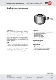 Ring force transducer, universal