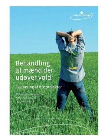 """Rapporten: """"Behandling af mænd der udøver vold"""". - Social"""