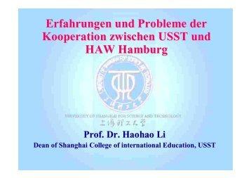 Prof. Dr. Li Haohao (PDF)