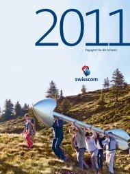 Engagiert für die Schweiz - Geschäftsbericht 2011