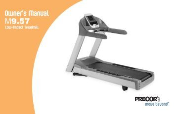846i r recumbent bike precor m9 57 treadmill owner s manual 09 2006 precor