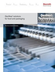 GenNext™ solutions for food and packaging
