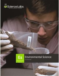 Environmental Science 12-1-11 - 21st Century Hands-On Science Kits