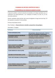 Desenvolvimento: desafios e perspectivas antropológicas - Ipea