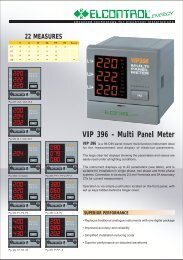 VIP 396 - Multi Panel Meter - TR instruments