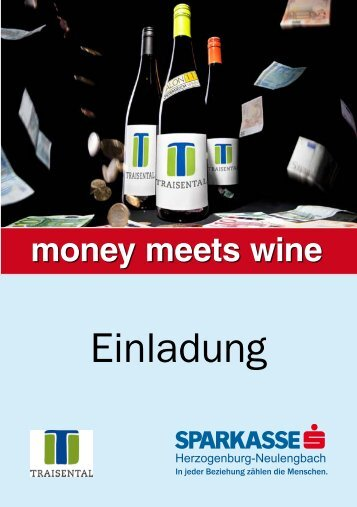 money meets wine