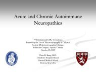 Acute and Chronic Autoimmune Neuropathies - Société d ...