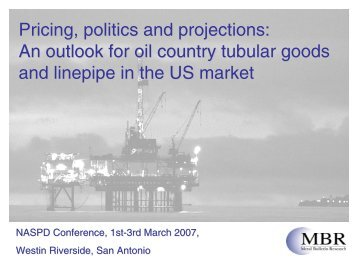 Pricing, politics and projections: An outlook for oil country ... - NASPD