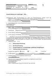 Ausschreibung von Leistungen – VOL – - Die Vergabeplattform des ...