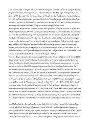 Zeitungsbericht zur Sitzung des Stadtrats vom 15.12.2009