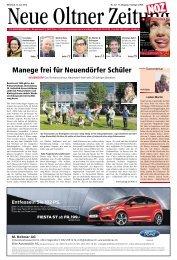 Manege frei für Neuendörfer Schüler - Aktuelle Ausgabe