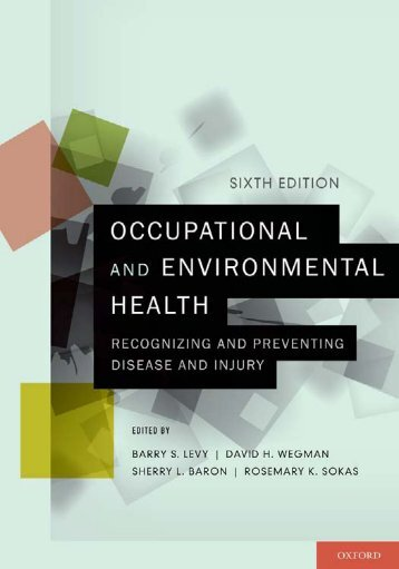 Occupational and Environmental Health: Recognizing and ...