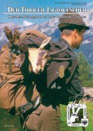 Nr. 21 - Tiroler Jagdaufseher Verband