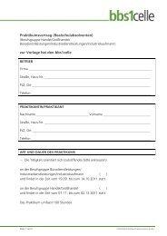 Praktikumsvertrag (Realschulabsolventen) zur Vorlage ... - bbs1celle