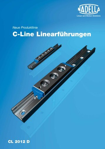 C-Line Linearführungen - LM Systems