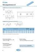 C-Line Linearführungen - LM Systems - Seite 7