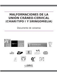 Malformaciones de la unión cráneo-cervical (Chiari tipo I y ...