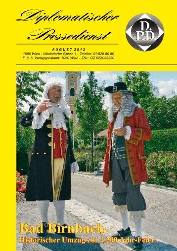SOMMERTHEATER 2012 - Diplomatischer Pressedienst