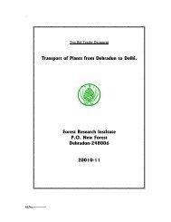 Sample Paper for the Ph D Entrance Test of FRI Dehradun