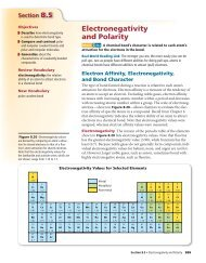 Electronegativity and Polarity - McGraw-Hill Higher Education