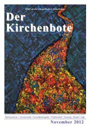 Internet Kibo November.pdf - Ev.-luth.Kirchengemeinde Marktredwitz