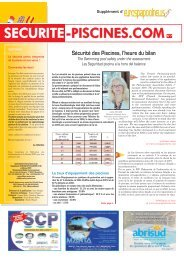 SECURITE-PISCINES.COMN°7 - Eurospapoolnews.com