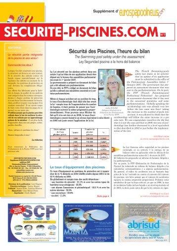 SECURITE-PISCINES.COMN°7 - Eurospapoolnews.com
