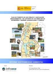 informe sostenibilidad ambiental - Confederación Hidrográfica del ...