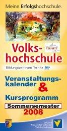 Volks- hochschule - Stadtgemeinde Ternitz