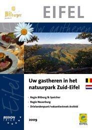 Uw gastheren in het natuurpark Zuid-Eifel - Tourist Information ...