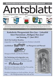 """Lobenfeld feiert Patrozinium """"Heiligstes Herz Jesu"""" - Gemeinde Mauer"""