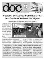 Diário Oficial Nº 2492 - Prefeitura de Contagem