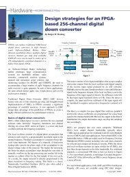 Design strategies for an FPGA-based 256-channel digital down ...