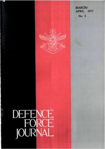 ISSUE 3 : Mar/Apr - 1977 - Australian Defence Force Journal