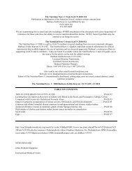 The Nutrition News 2010.week14 - the International & American ...