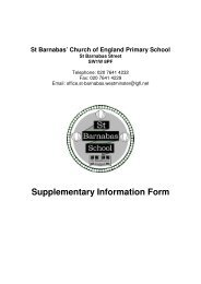Supplementary Information Form