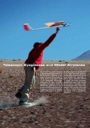 Telescopic Eyeglasses and Model Airplanes