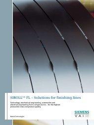 SIROLLCIS FL – Solutions for finishing lines - Industry - Siemens